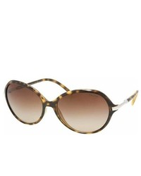 Ralph Lauren Ralph By Rl Ra5103 51013 Dark Tortoise With Brown Gradient Lenses Sunglasses