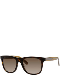 Marc by Marc Jacobs Rectangular Two Tone Sunglasses Havanabrown