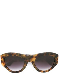 Linda Farrow Gallery Round Framed Sunglasses