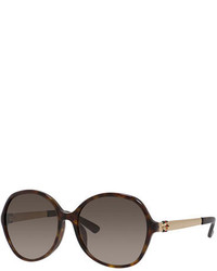 Gucci Round Gradient Sunglasses Dark Havana