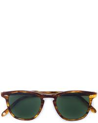 Garrett Leight Tortoiseshell Brooks 47 Sunglasses