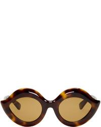 Gucci Tortoiseshell Cat Eye Sunglasses