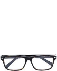 Ermenegildo Zegna Tortoiseshell Square Sunglasses