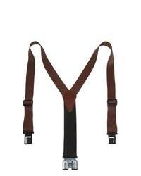 Dark Brown Suspenders
