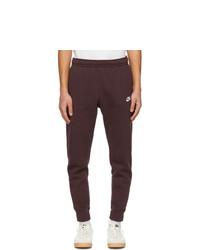 Nike Brown Fleece Sportswear Club Lounge Pants