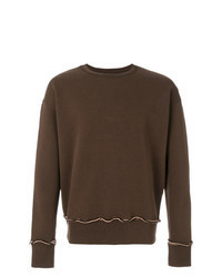 Dark Brown Sweatshirt