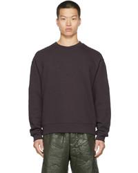 Dries Van Noten Purple French Terry Sweatshirt