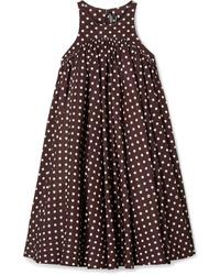 Calvin Klein 205W39nyc Polka Dot Twill Mini Dress