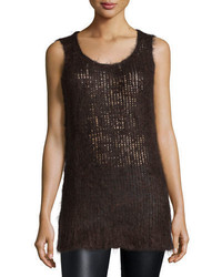 Michael Kors Michl Kors Collection Round Neck Tank