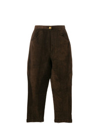 Chanel Vintage Tapered Cropped Trousers