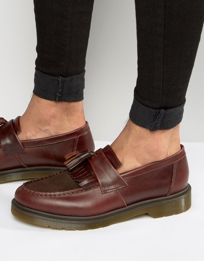Dr. Martens Adrian Tassel Loafers In JR3in