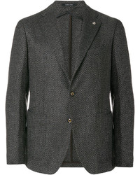Tagliatore Textured Two Button Blazer