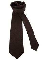 Dark Brown Tie
