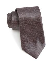 John Varvatos Solid Silk Tie