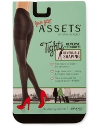 Assets By Spanx Assets By Spanx Brand Reversible Tights 1602 Blackbrown