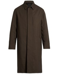 Lemaire Wool Single Breasted Overcoat