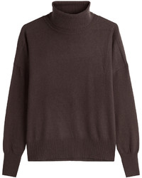 Dark Brown Turtleneck