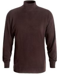 Bullock Jones Cashmere Mock Turtleneck Sweater