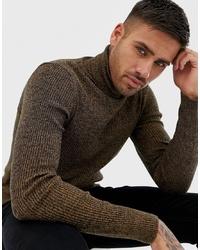 4acf43e8 Men's Dark Brown Sweaters from Asos | Men's Fashion | Lookastic.com
