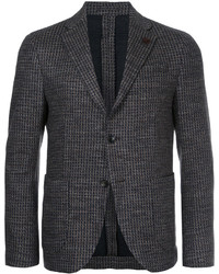 Lardini Two Button Tweed Blazer
