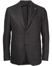 Tagliatore Two Button Tweed Blazer