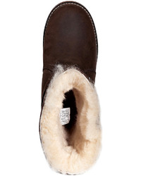6971fc7701d UGG Australia Leather Noira Boots In Brownstone, $395 | STYLEBOP.com ...