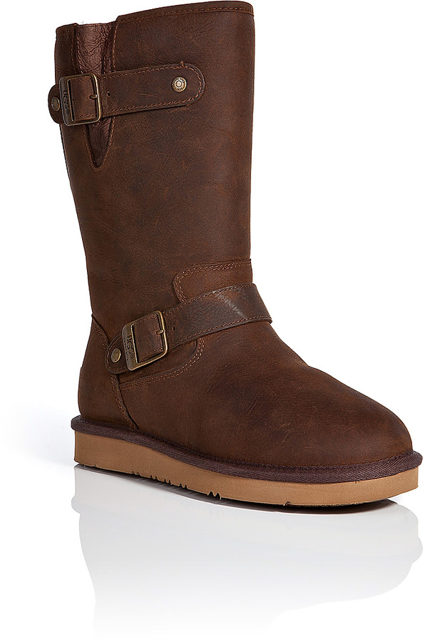 ... UGG Australia Sutter Leather Boots ...