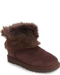 Ugg valentina genuine shearling cuff boot medium 816661