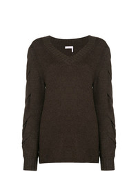 See by Chloe See By Chlo Twist Knit Sweater