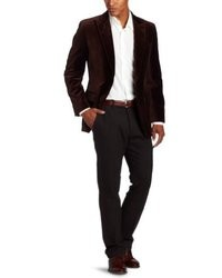 Dark Brown Velvet Blazers for Men | Men's Fashion