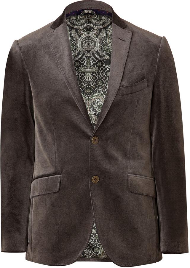 ... Etro Cotton Velvet Blazer ...