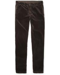 Massimo Alba Regular Fit Velvet Trousers