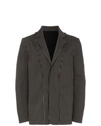 Ann Demeulemeester Single Breasted Striped Blazer
