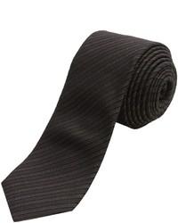 John Varvatos Star Usa Narrow Multi Stripe Tie Silk Blend