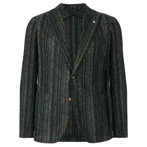 Tagliatore Striped Tailored Blazer
