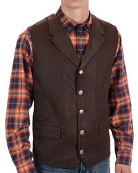 Modelcurrentbrandname Madison Creek Outfitters Lapel Travel Vest Cotton Twill