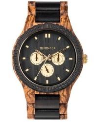 Kappa multifunctional wood bracelet watch 46mm medium 4123778