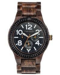 Kardo multifunctional wood bracelet watch 46mm medium 3768177