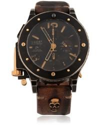 U 42 bk chrono gold unic watch medium 599096