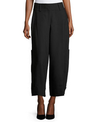 See by Chloe High Waist Wide Leg Cargo Trousers