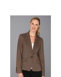 Anne Klein Tweed Blazer Jacket
