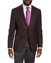 Peter Millar Hyperlight Classic Fit Solid Stretch Wool Sport Coat