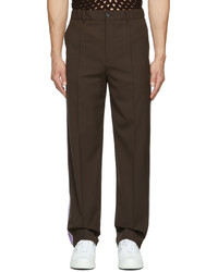 Valentino Brown Regular Fit Trousers