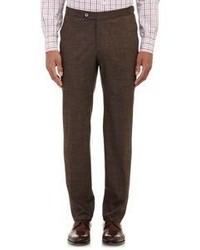 Isaia Gregory Trousers Brown