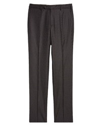 Zanella Parker Birds Eye Stretch Wool Trousers