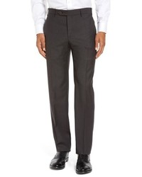 Zanella Parker Sharkskin Wool Trousers