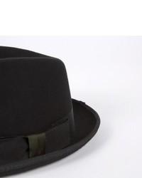 23ae91e9f5ffa ... Paul Smith By Christys Dark Mauve Wool Trilby Hat ...