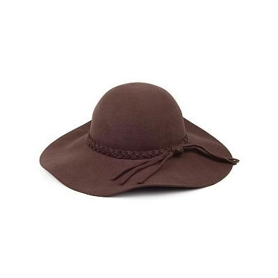 357f690282c ... Brown Wool Hats Scala Hats Wool Felt Floppy Hat Chocolate
