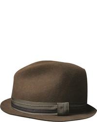 San Diego Hat Company Wool Felt Stubby Brim Fedora Usa1106
