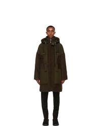 Ermenegildo Zegna Couture Brown Llama Duffle Coat